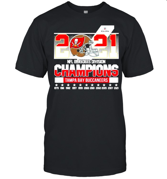 2021 Football Playoffs Division Champions Tampa Bay Buccaneers shirt