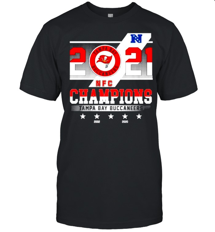 2021 NFC chamouin Tampa Bay Buccaneers 2002 2020 shirt