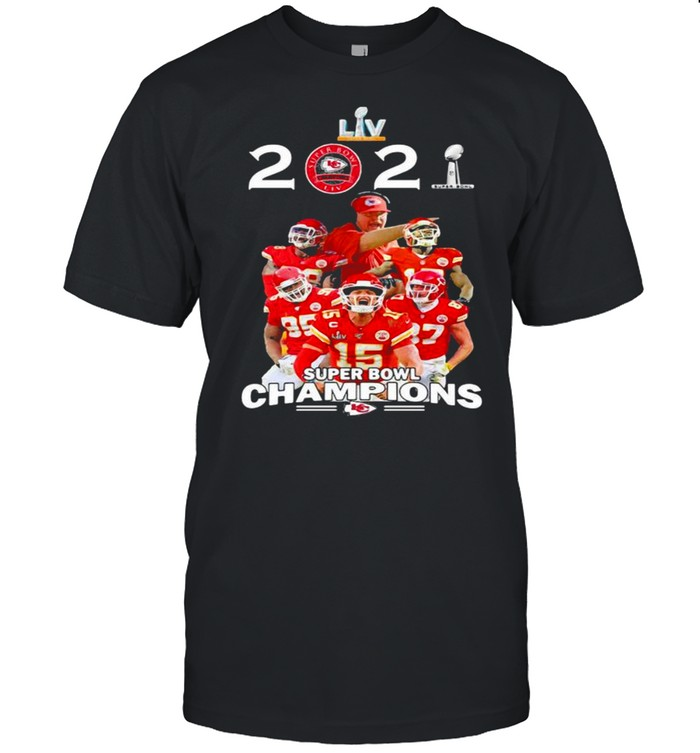 2021 Super Bowl Champions Chiefs shirt
