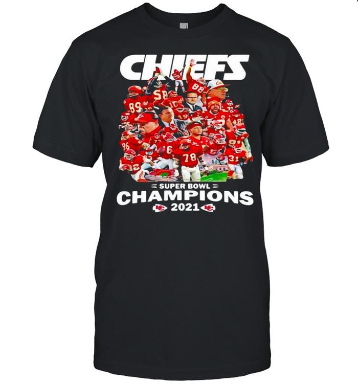 Chiefs Super Bowl Champions 2021 shirt