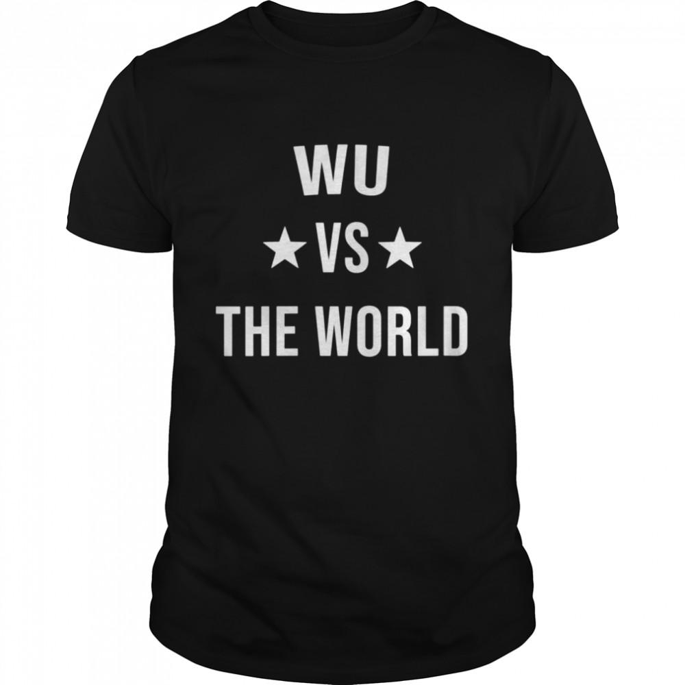 WU Vs The World Family Reunion Last Name Team Custom shirt