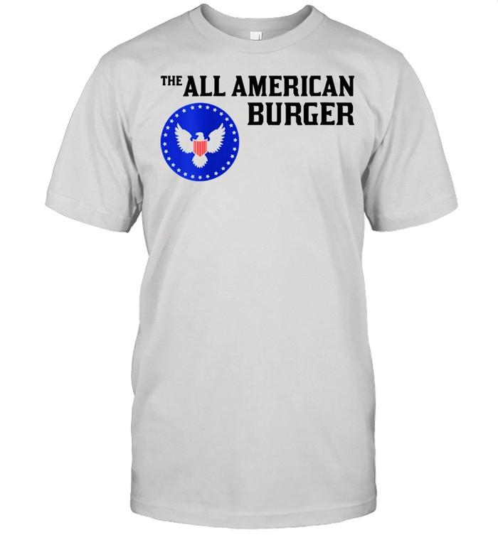 1980s Hamburger The All American Burger shirt