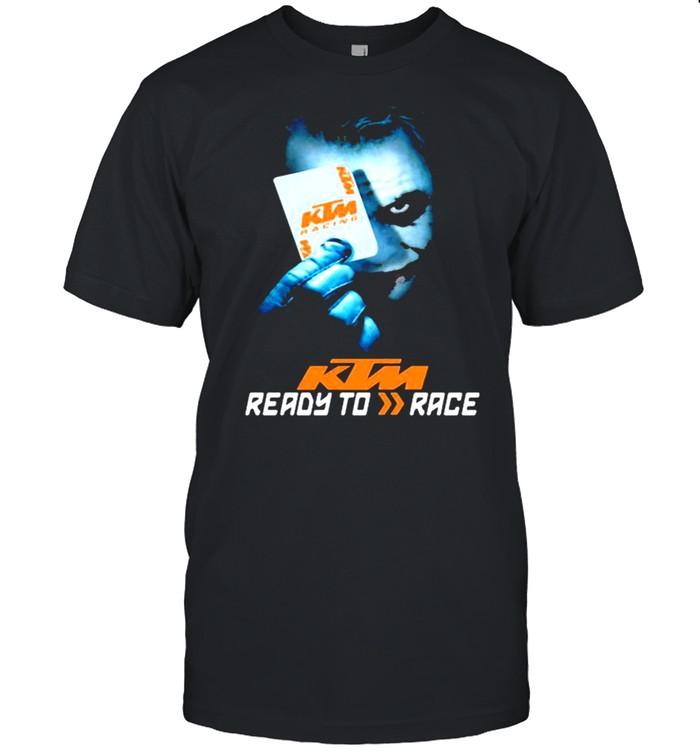 Joker With Logo Ktm Ready To Race Shirt