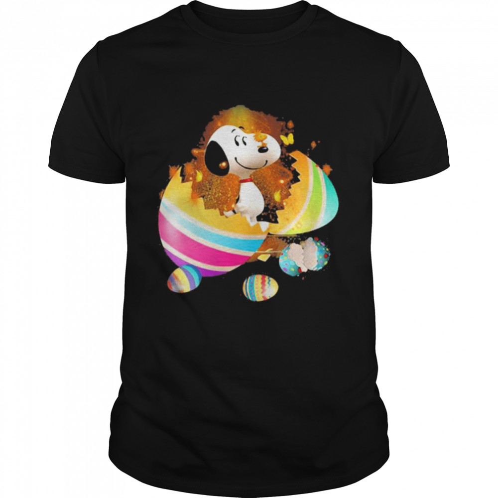 Egg Snoopy Happy Easter Day Shirt