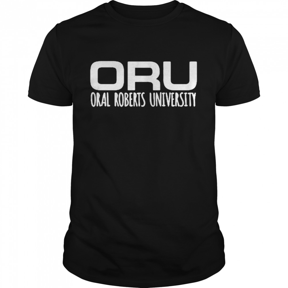 ORU Oral Roberts University shirt