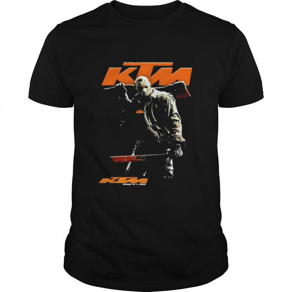 Skull With Logo Ktm Shirt