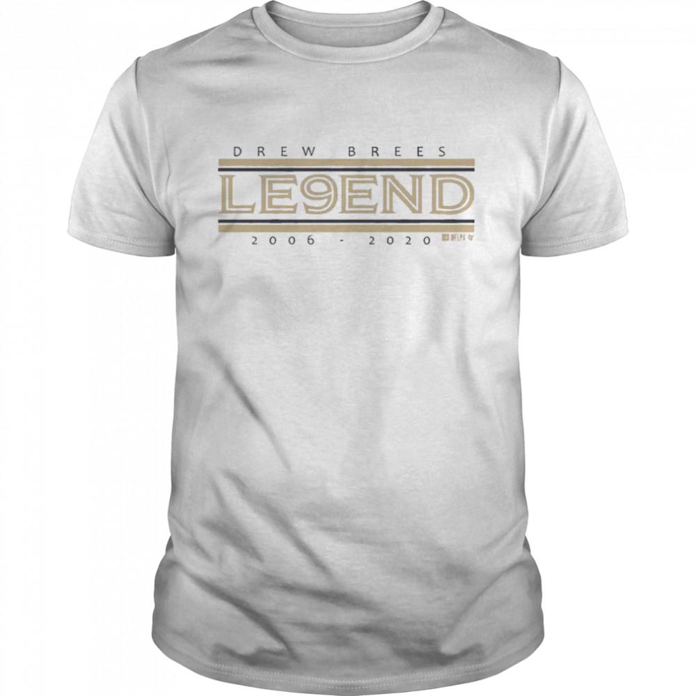 Drew Brees Le9end shirt