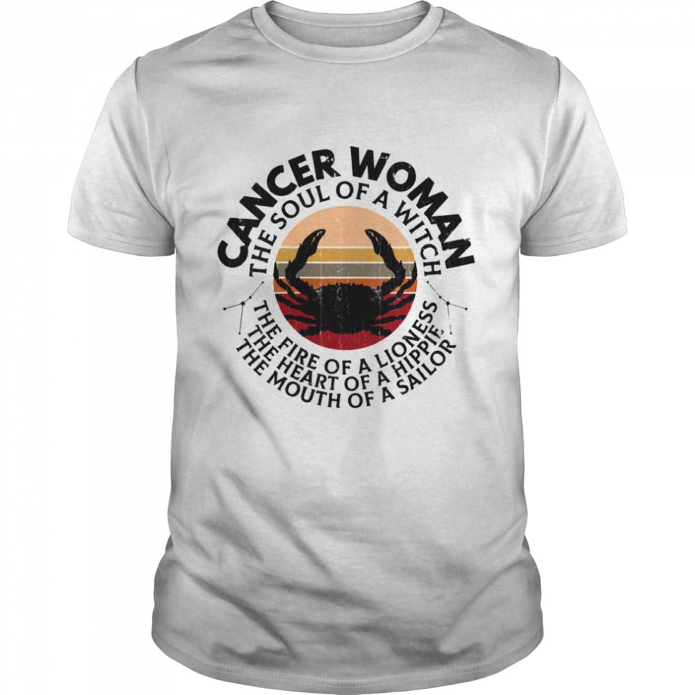 Cancer Zodiac Sign Girls Shirt