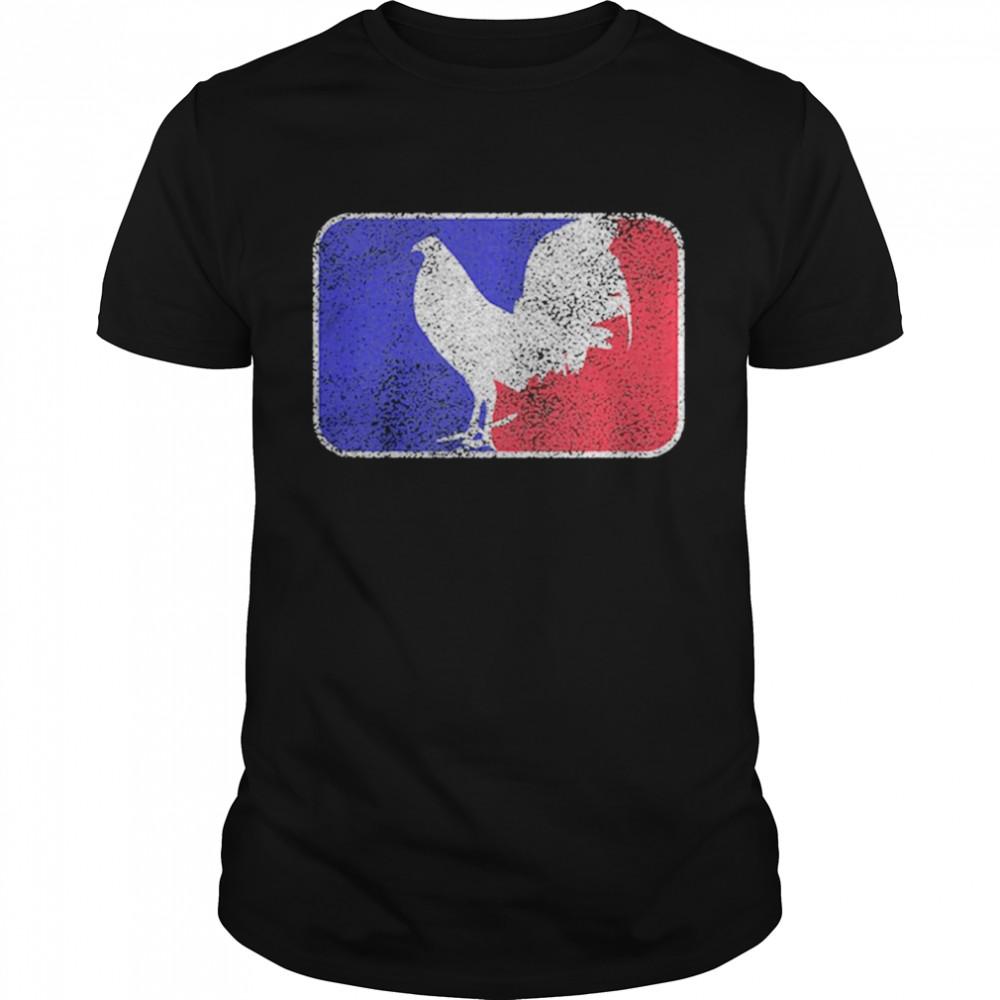 Chicken France Flag shirt