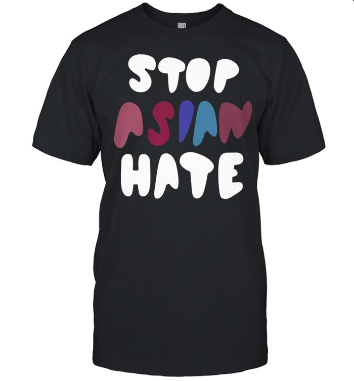 Dame stop asian hate tshirt