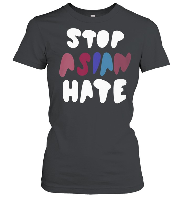 Dame stop asian hate tshirt Classic Women's T-shirt
