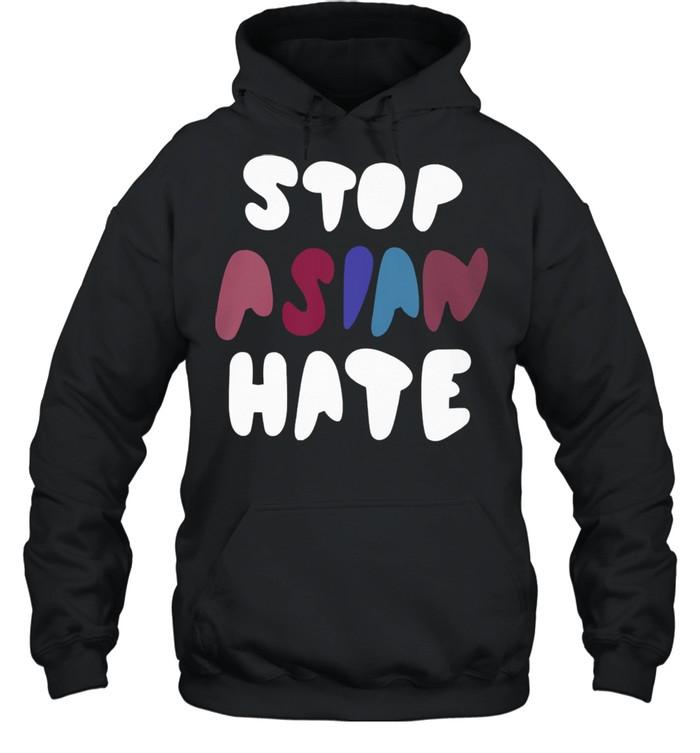 Dame stop asian hate tshirt Unisex Hoodie